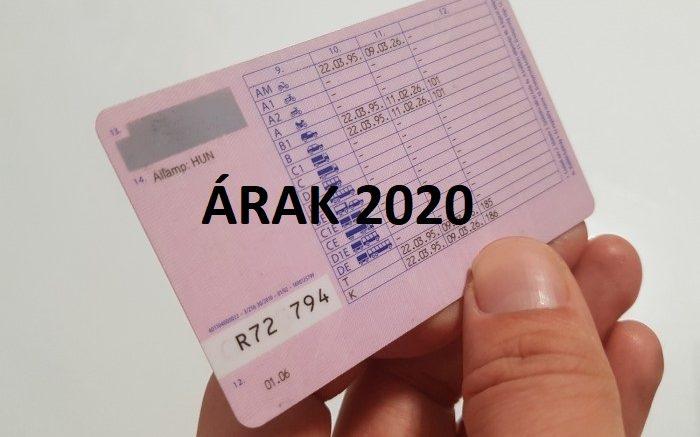 B kategóriás jogosítvány